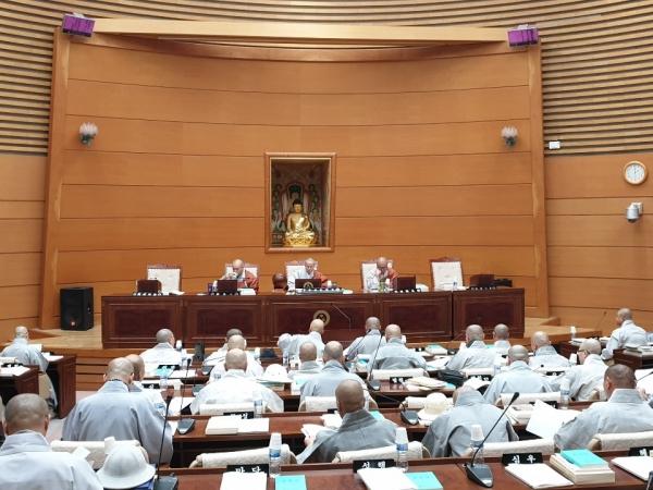 조계종 중앙종회 본회의.(자료사진)